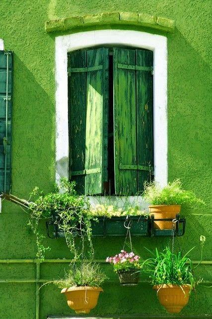 Les propriétés de la couleur verte